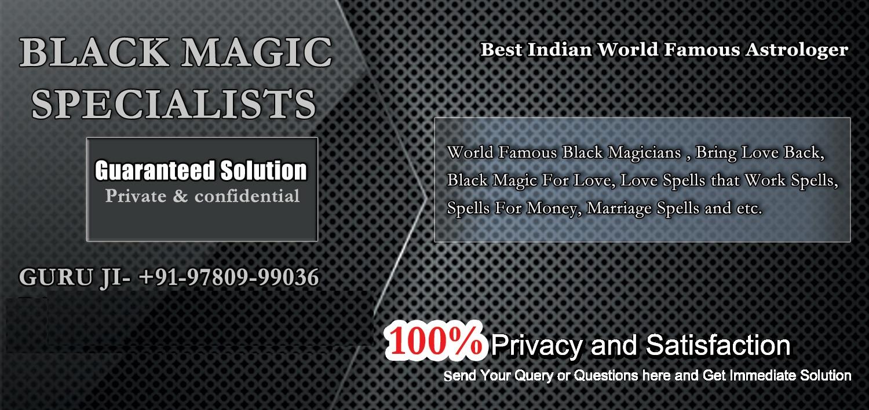black magic specialist..